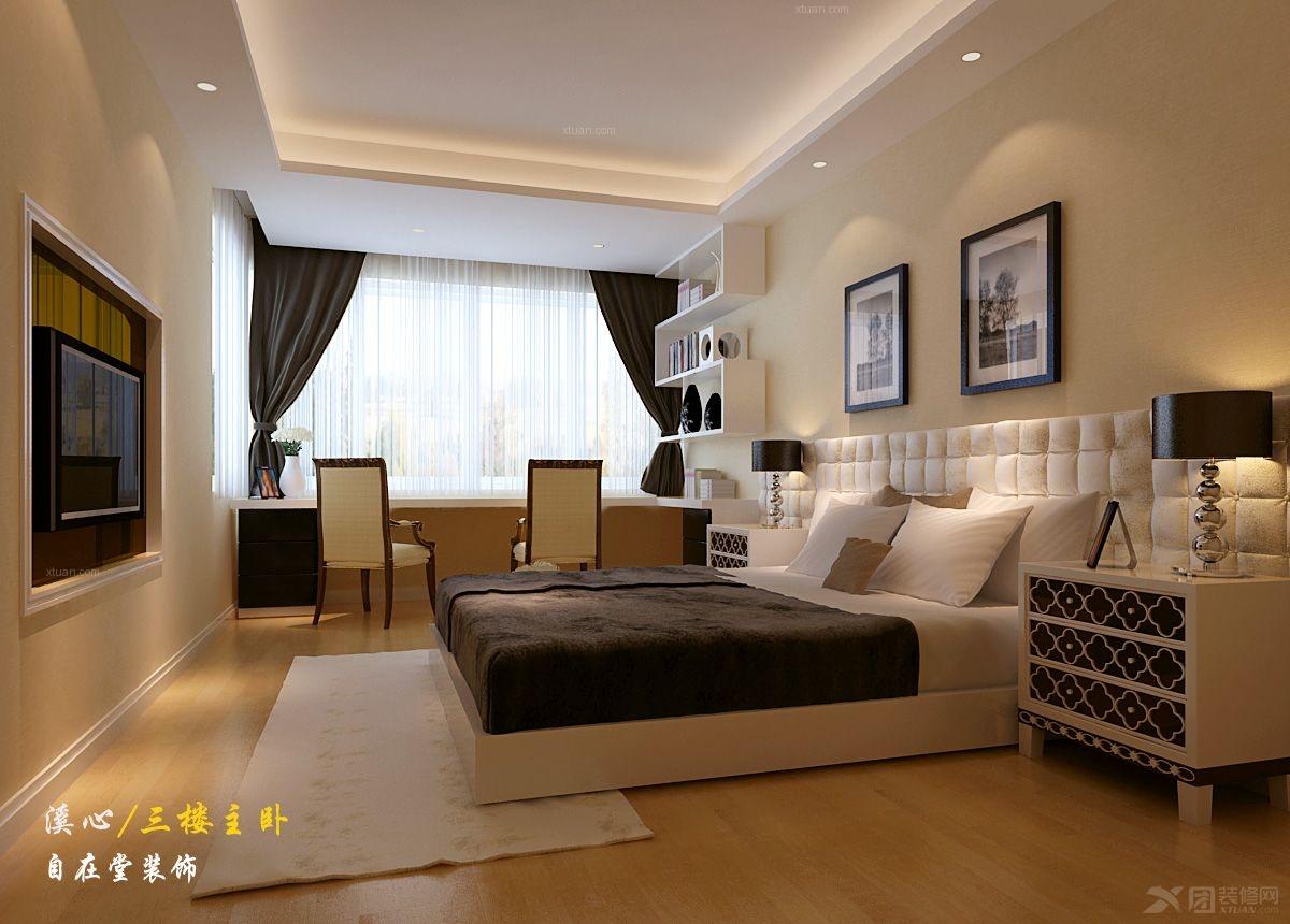 背景墙 房间 家居 起居室 设计 卧室 卧室装修 现代 装修 1200_860图片