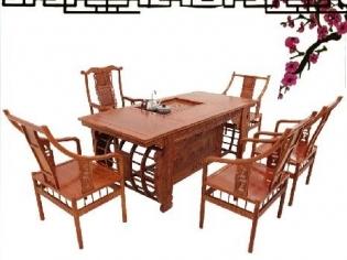 非洲花梨木茶桌