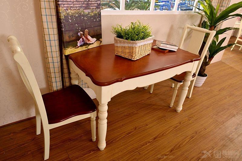 美式 地中海家具 地中海餐桌 餐椅 实木椅