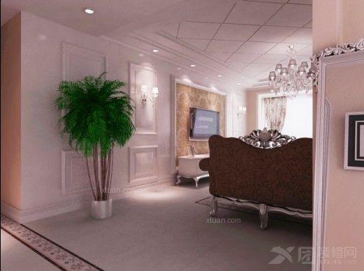 欧式风格三居设计案例