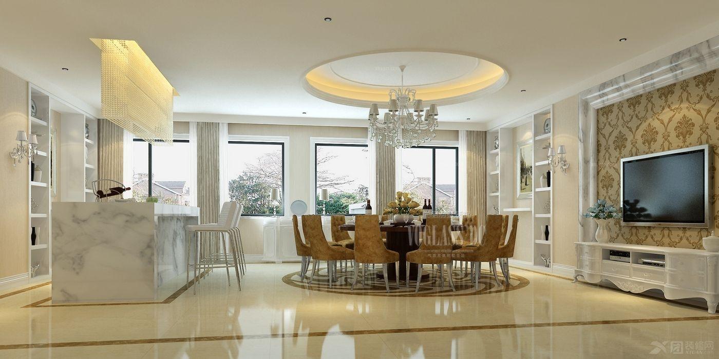 顺景园高端公寓尚层装饰装修设计效果图