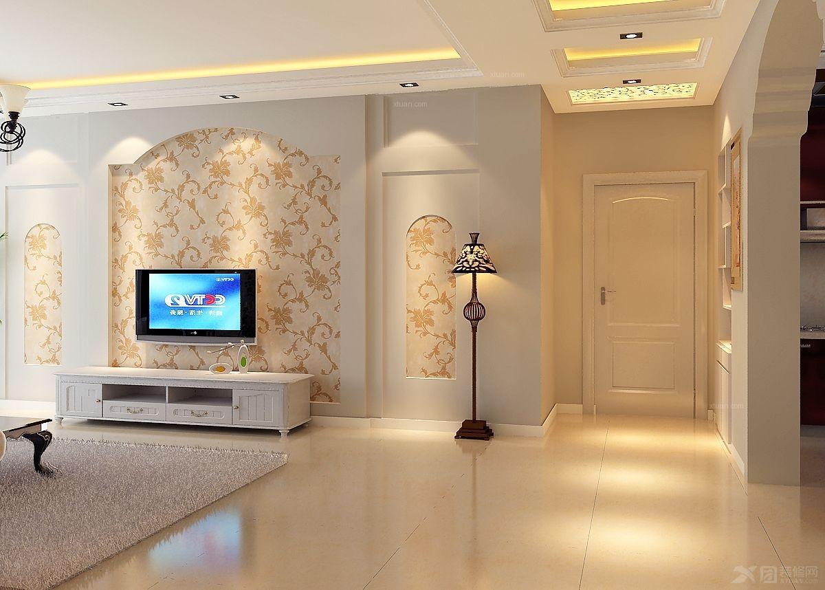 三居室-136平米-客厅装修效果图 中式别墅客厅装修效果图  设计理念