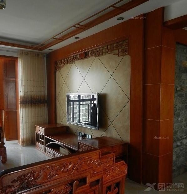 三室两厅_丽山豪苑装修效果图-x团装修网