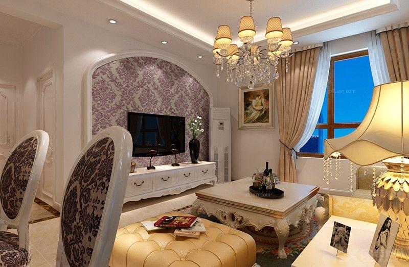 熙悦山熙兆家园95平浪漫奢华美家 简洁明的朗设计空间