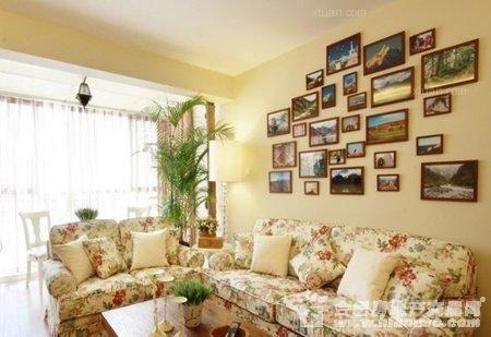 户型:两室一厅 风格:中式风格 装修类型:家装 装修方式:半包 面积
