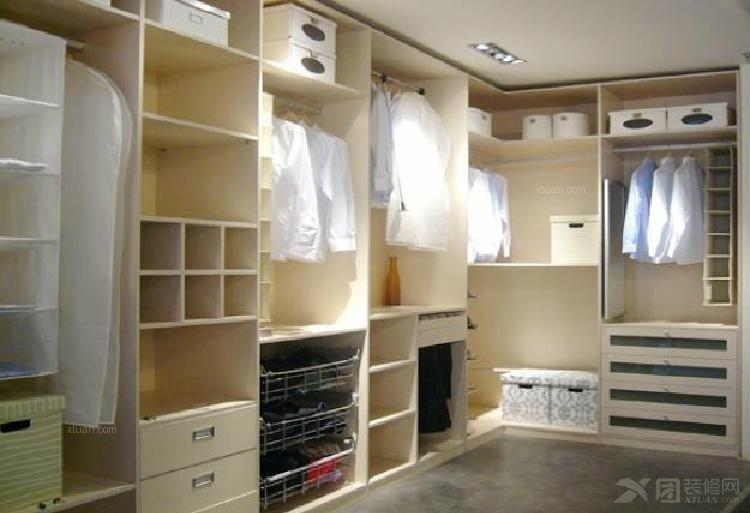 整体衣帽间走入式衣柜储物柜转角衣橱diy多功能柜子定制 b0