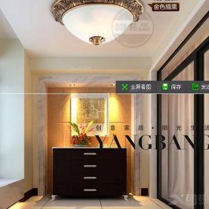 简约现代中式客厅灯图片