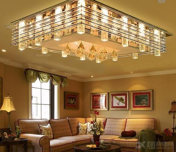 雷士照明客厅灯装修效果图