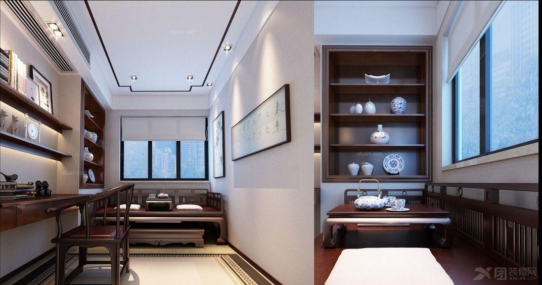 三室两厅_新中式风格图片