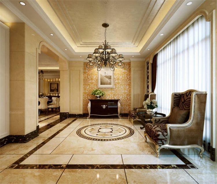 建发汇金国际-三居室装修效果图 豪华三居室欧式风格——鼎盛创典装饰图片