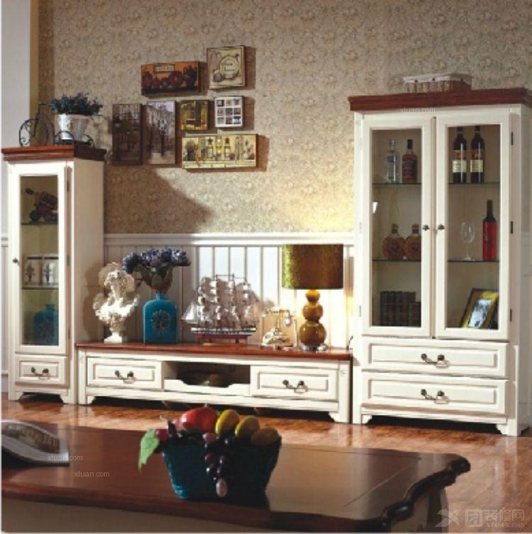 【臻艾美家】地中海美式家具实木儿童书柜书桌带书架