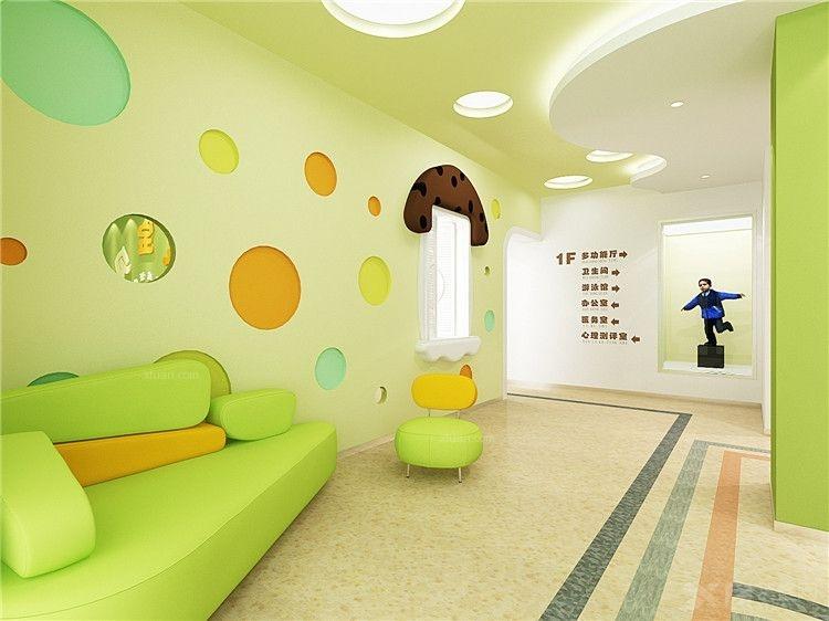幼儿园装修效果图-x团装修网