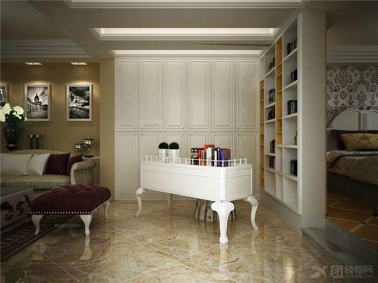 欧式现代单身公寓装修效果图欣赏