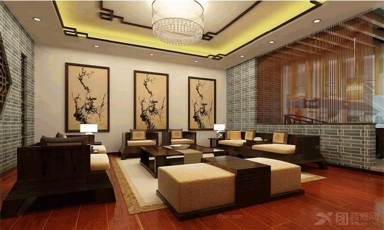 中海环宇天悦 95平两居室现代简约风格设计装修效果图 简欧风格两居室