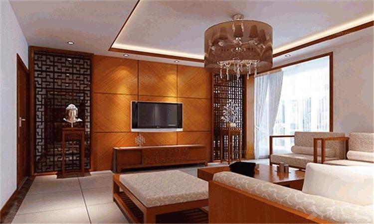 小户型中式风格卧室_萨拉曼卡装修效果图-x团装修网