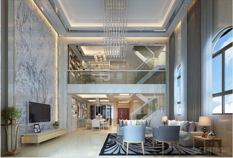 客厅装修效果图 客厅设计装修效果图  户型:别墅 房间:客厅 风格:现代图片