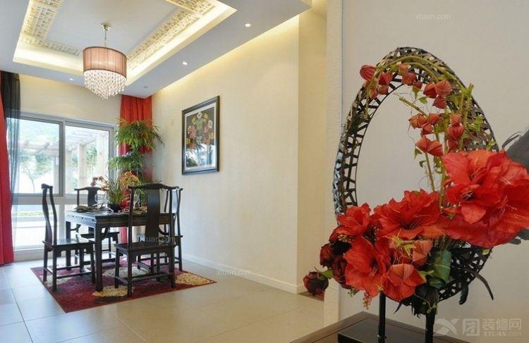 中式红色温馨婚房
