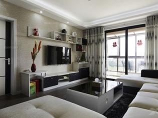 万林宅配--绿色环保家具 电视柜装修效果图