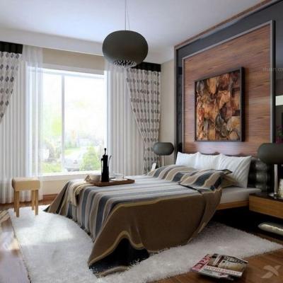 卧室背景墙,卧室的美丽衣裳