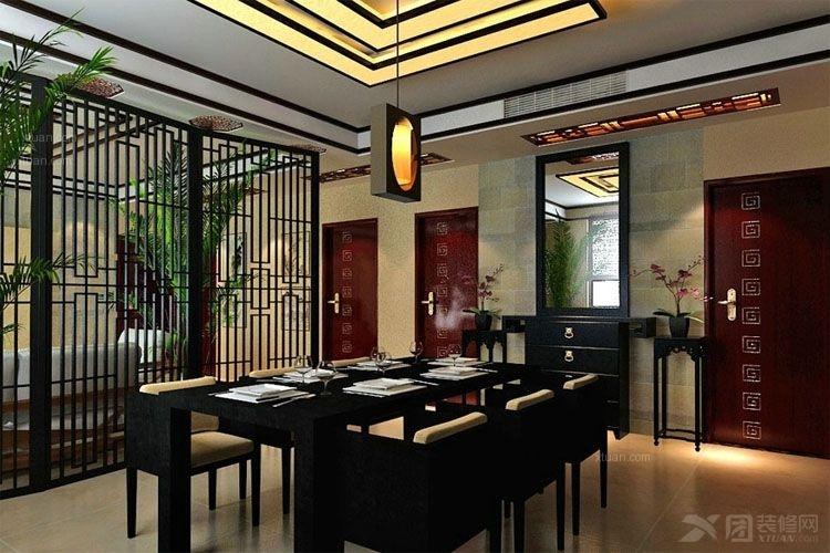 餐厅装修效果图 茶餐厅装修效果图  户型:两居室 房间:餐厅 风格:现代