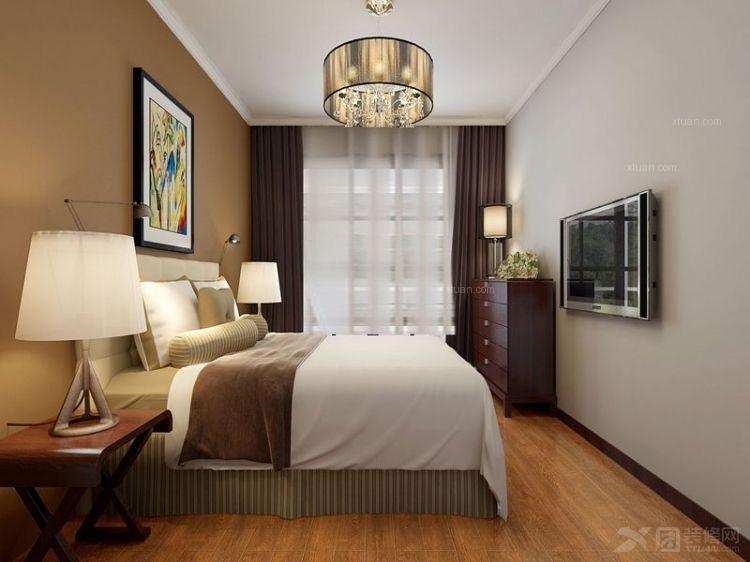 整体设计是欧式风格,暖黄色是主色调,使空间显得温馨,家的氛围更温暖