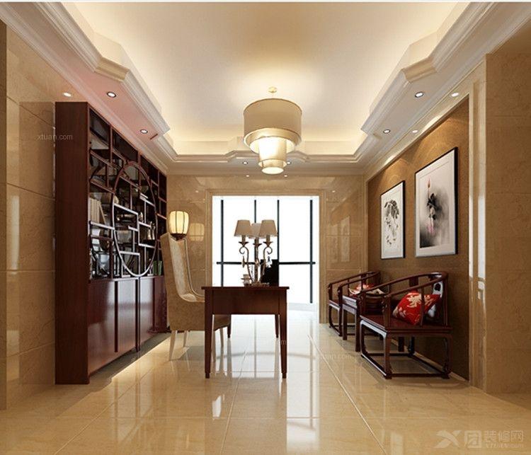 让居室变得不一样装修效果图  房间:书房 风格:中式风格 装修类型图片