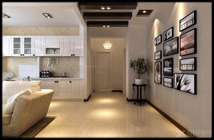 现代简约led吸顶灯 阳台过道门厅灯 客厅卧室灯装修效果图  户型:两室