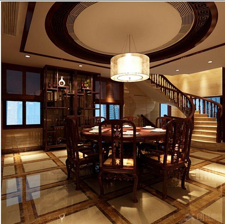 餐厅装修效果图 茶餐厅装修效果图  户型:三居室 房间:餐厅 风格:现代