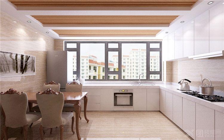 复式楼欧式风格厨房软装_依山半岛图片