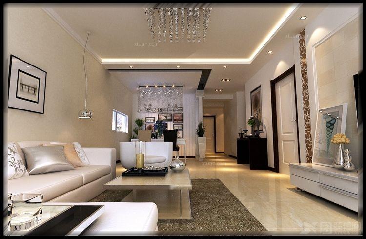 三室两厅现代简约餐厅_城建北尚b区2装修效果图-x团