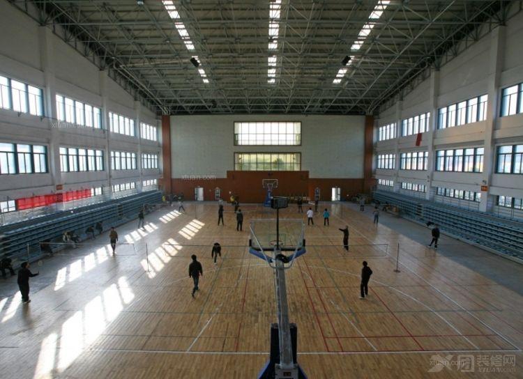 室内篮球场装修效果图