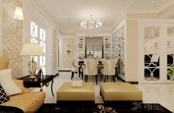 设计说明:同德 昆明广场130平方现代风格户型15万元,使用了萨米特品牌