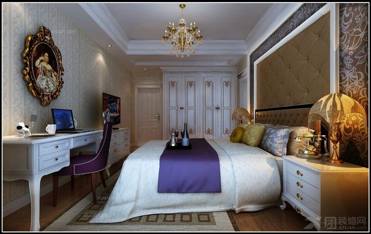 主卧房间室内设计图