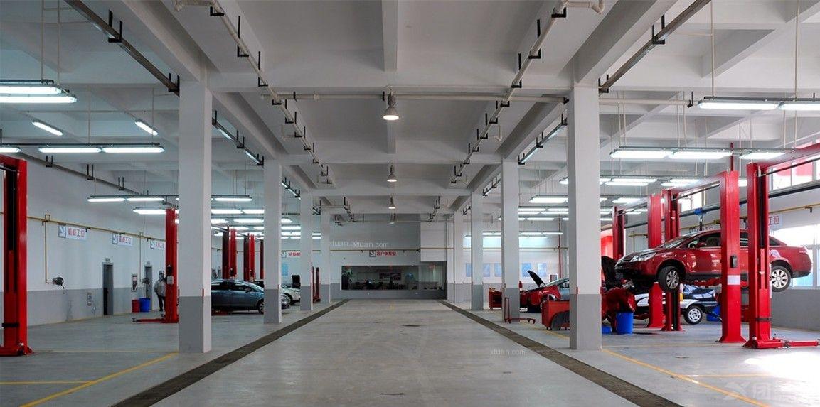 汽车维修4s店设计装修效果图-x团装修网