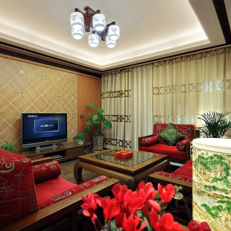 建发汇金国际-三居室装修效果图 豪华三居室欧式风格——鼎盛创典装饰