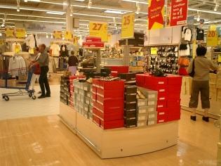 超市服装区设计