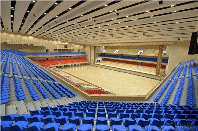 体育馆内部设计