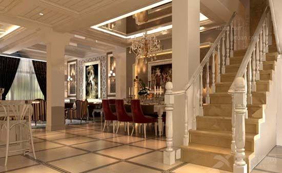 欧式吧台的设计让居室显得更有情调