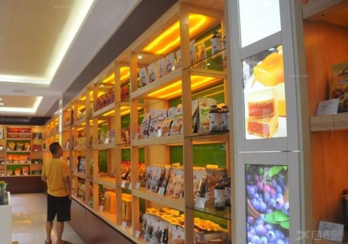 超市食品专区设计