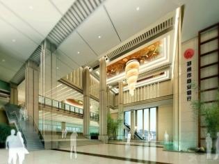 郑州市商业银行效果图