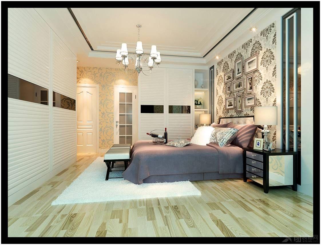 户型:三室两厅 房间:主卧室 风格:现代简约 装修类型:家装 装修方式