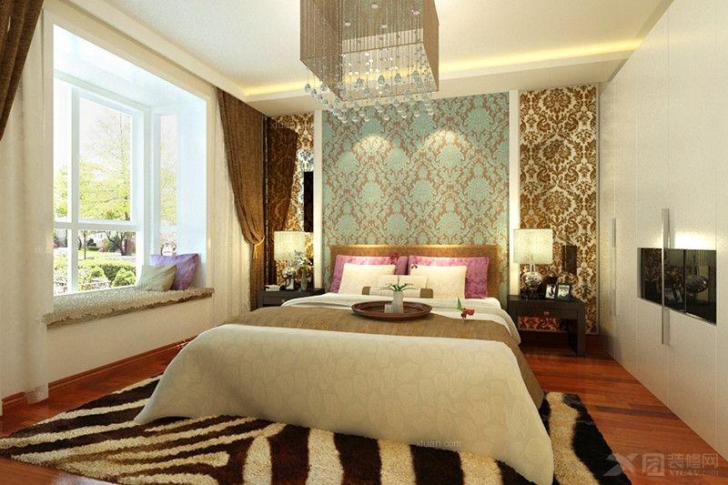 三居室现代简约风格装修