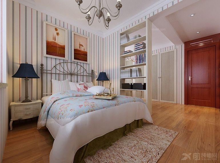 装修效果图 豪华三居室欧式风格——呼市鼎盛创典
