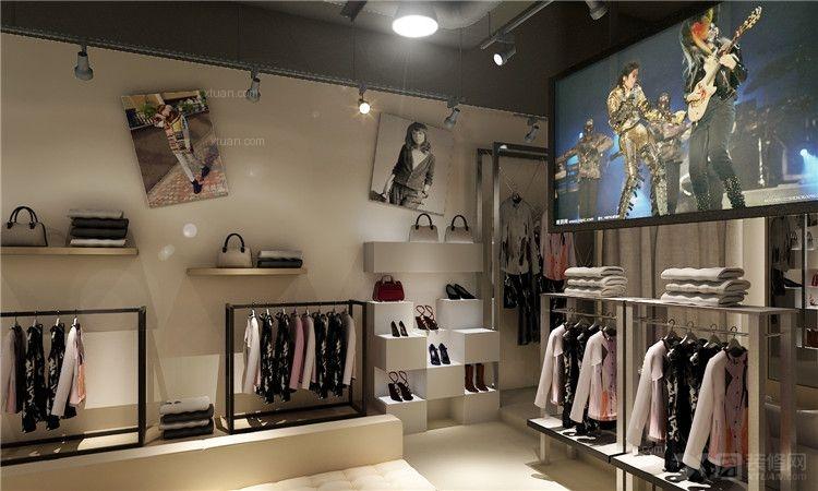 现代简约_悦居装饰 精美服装店铺