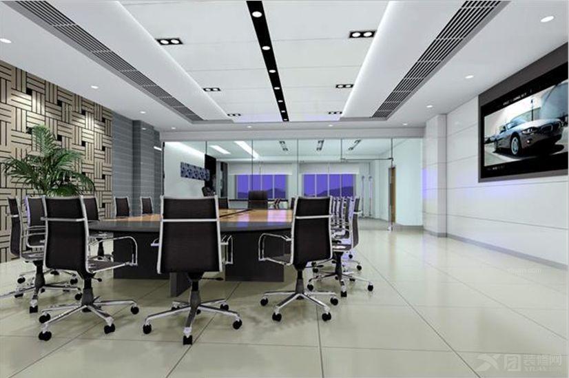银行会议室设计