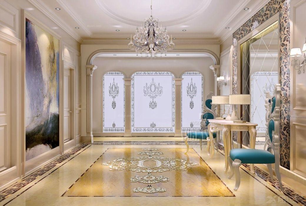 尚层装饰香山清琴别墅法式新古典装修效果图图片