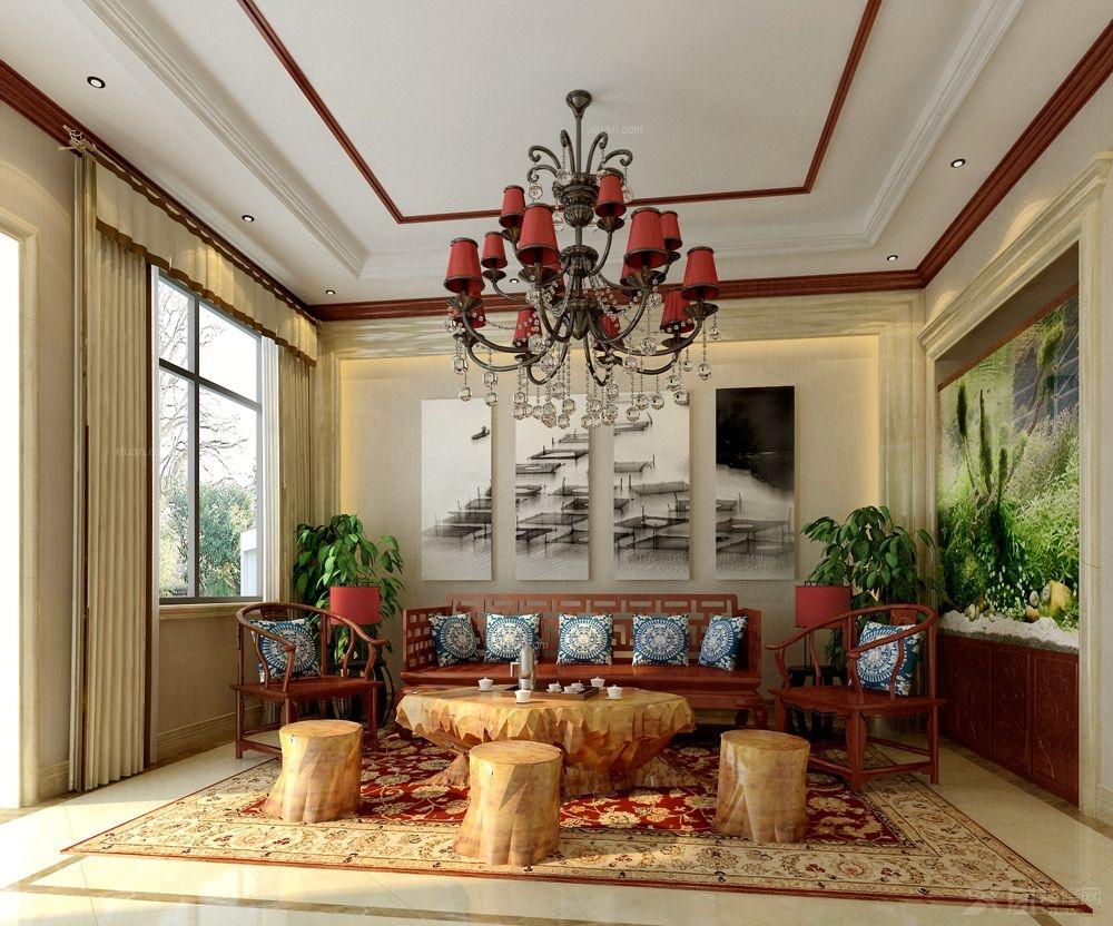 别墅欧式风格_中海九号公馆欧式典雅装修效果图-x团图片