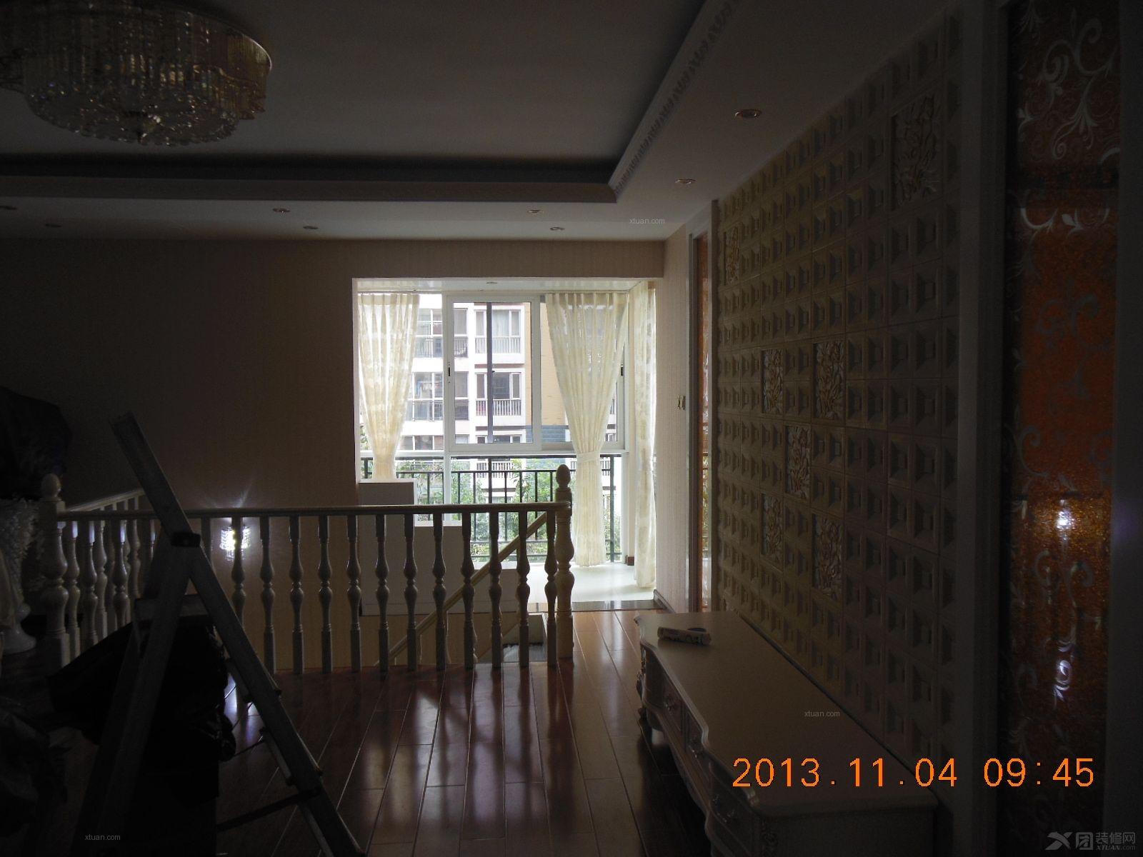 复式楼欧式风格阁楼_广福小区装修效果图-x团装修网