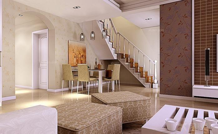 室内外色彩鲜艳,光影变化丰富.