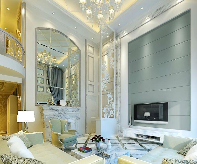 复式楼欧式风格_鑫海湾欧式设计专修风格